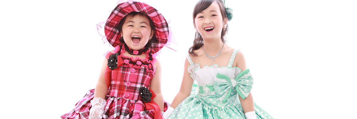 七五三(3歳)衣装カタログ
